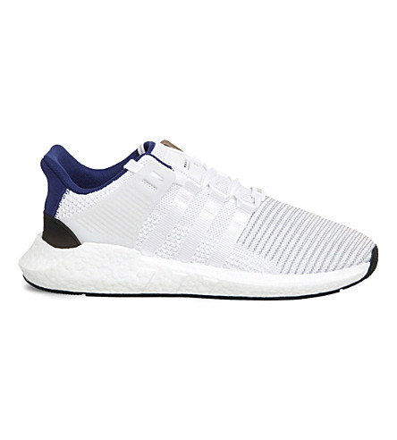 ADIDAS EQT Support 93/17 Primeknit trainers (White+core+black