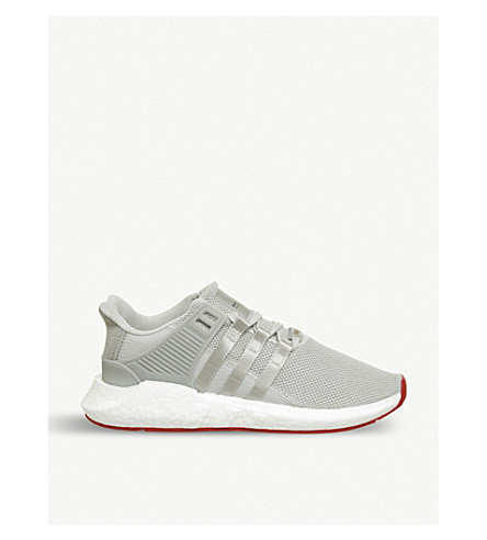 ADIDAS EQT Support 93/17 woven trainers (Matte+silver+white