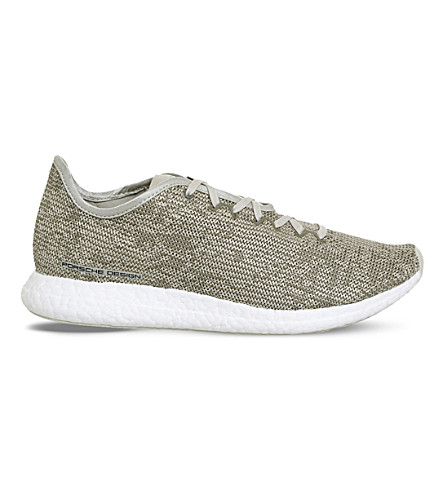 ADIDAS Travel Tourer Porsche Design mesh trainers (Putty+cargo+white
