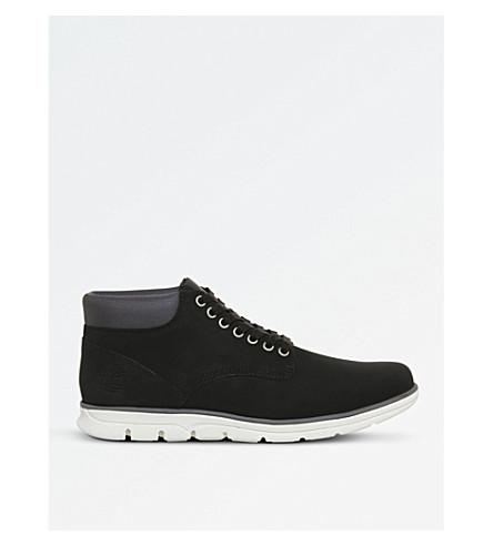 TIMBERLAND Bradstreet nubuck chukka boots (Black+nubuck