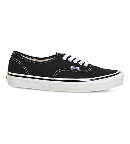 44 VANS trainers Authentic Authentic Black canvas DX VANS Atdd7xwqf