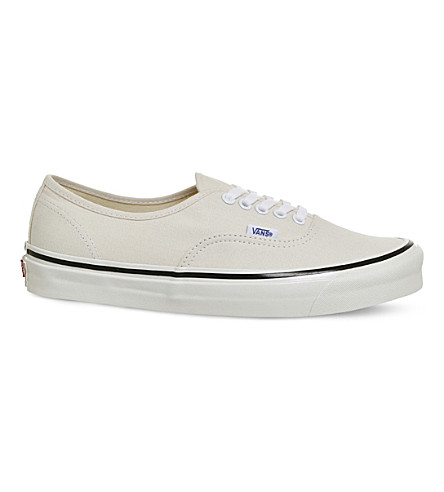 VANS Authentic 44 DX canvas trainers (White