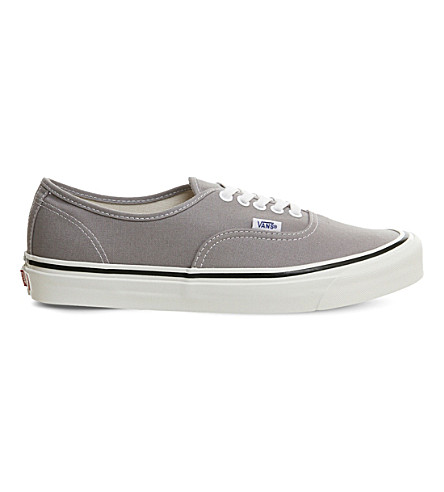VANS Authentic 44 DX canvas trainers (Light+grey