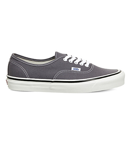 VANS Authentic 44 DX canvas trainers (Og+dark+grey+anaheim