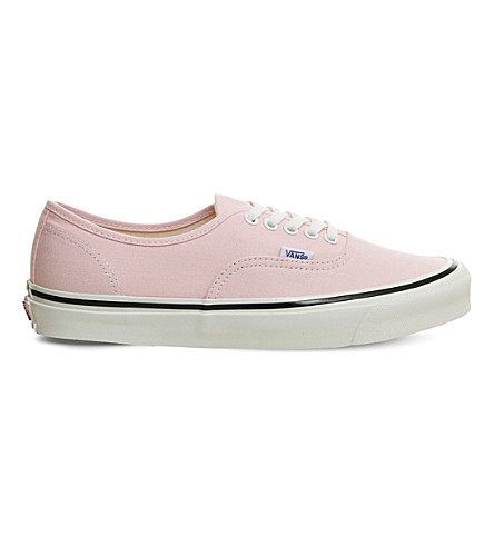 VANS Authentic 44 DX canvas sneakers (Pink+dogwood