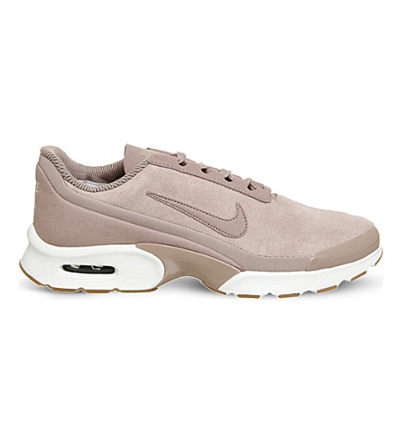 NIKE Air Max Jewell suede trainers (Particle+pink+white