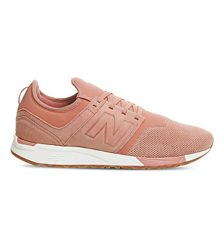 NEW BALANCE 247 classic leather trainers (Clae+white
