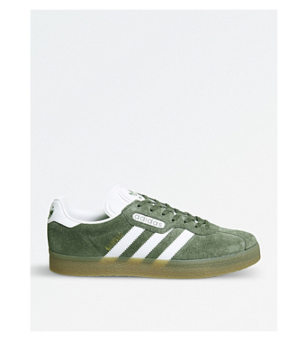 ADIDAS Gazelle Super suede trainers (St+major+white+gold
