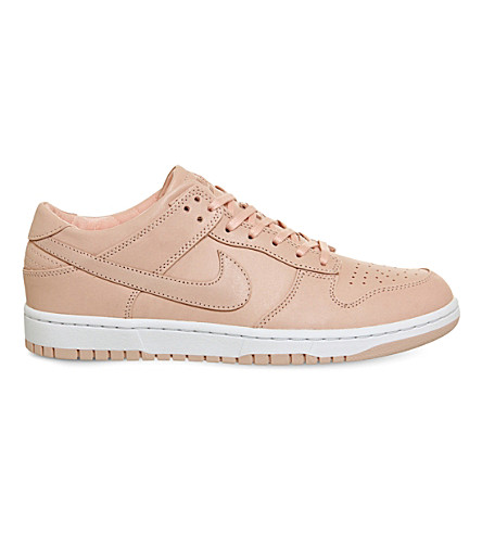 NIKE Dunk low-top leather trainers (Artic+orange+lab