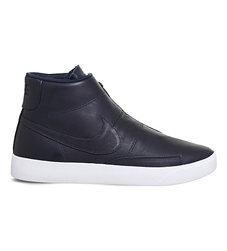 Nike Leather High Trainers EJrsSx4Jcs