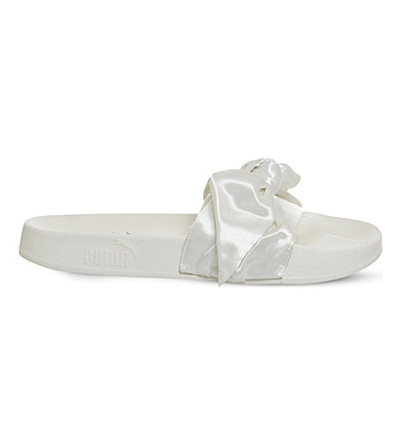 PUMA Fenty ribbon slides (Marshmallow