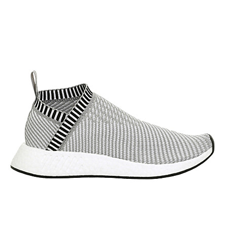 ADIDAS NMD CS2 PRIMEKNIT trainers (Solid+grey+white