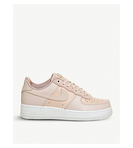 NIKE Air Force 1 07 leather trainers (Particle+beige