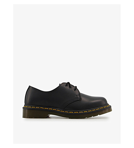 DR. MARTENS 1461 3-eye leather shoes (Black