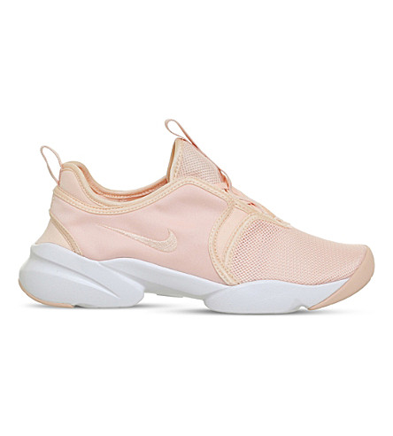 NIKE Loden mesh trainers (Sunset+tint+white