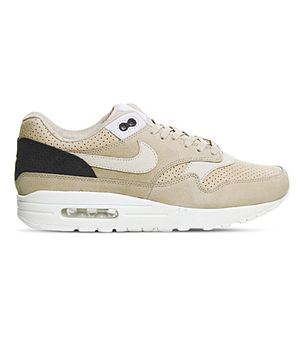 NIKE Air Max 1 Pinnacle leather trainers (Mushroom+oatmeal