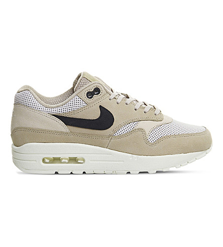 NIKE Air Max 1 Pinnacle leather trainers (Mushroom+black+bone