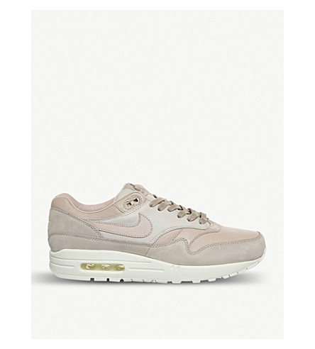NIKE Nike Lab Air Max 1 Pinnacle leather trainers (Sand+particle+beige