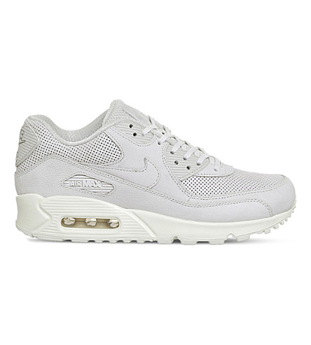 NIKE Air Max 90 Pinnacle leather trainers (Light+bone