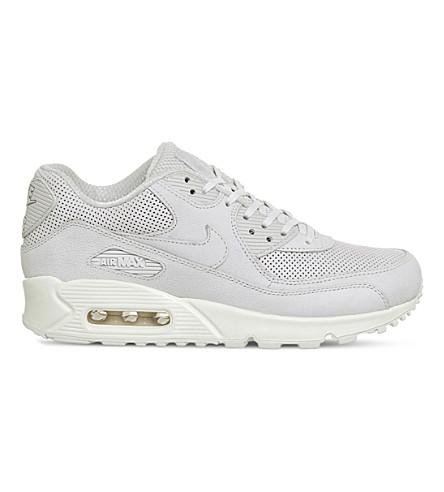 NIKE Air Max 90 Pinnacle leather sneakers (Light+bone