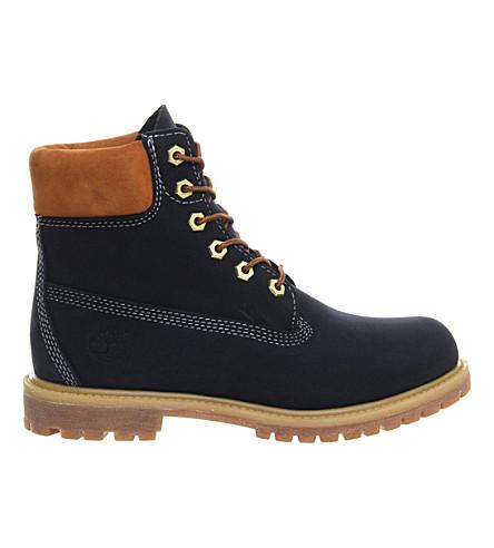 TIMBERLAND Premium 6-inch boot (Black iris waterbuck