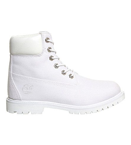 TIMBERLAND Premium 6-inch boot (White canvas