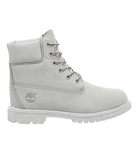 TIMBERLAND Premium 6 boot (White mono nubuck