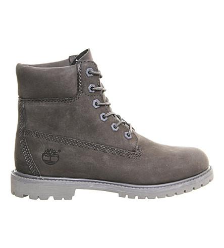 TIMBERLAND Premium 6-inch suede boots (Grey mono nubuck