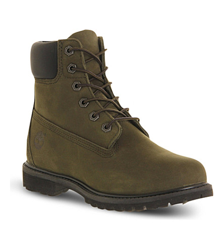 TIMBERLAND Premium 6-inch boot (Forest night