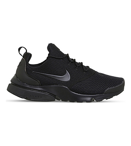 NIKE Presto Fly mesh trainers (Triple+black