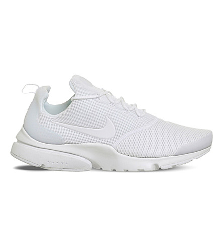 NIKE Presto Fly mesh trainers (Triple+white