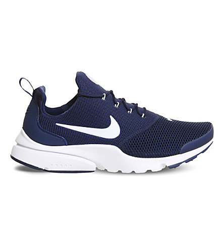 NIKE Presto Fly mesh trainers (Midnight+navy+white