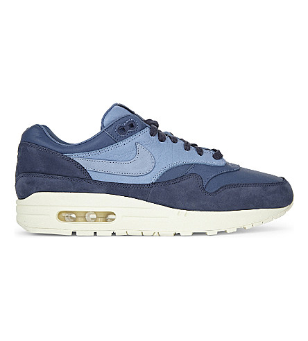 NIKE Air Max 1 Pinnacle leather trainers (Ocean+fog+purple+fog