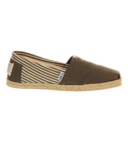 OFFICINE CREATIVE Classic University espadrilles (Grey
