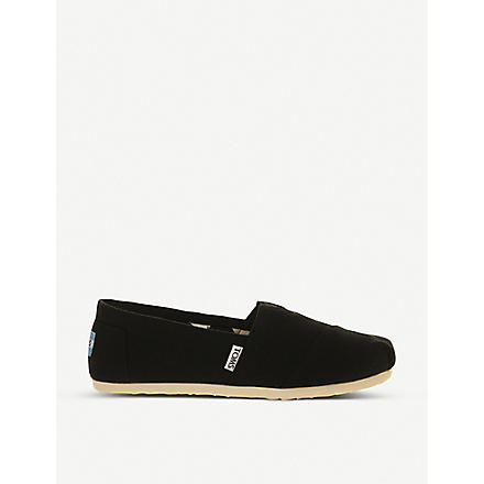 TOMS Classic canvas shoes (Black