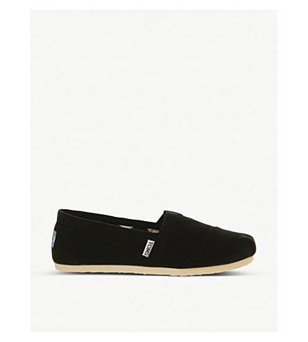 OFFICINE CREATIVE Classic canvas shoes (Black