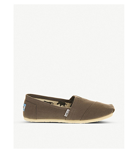 TOMS Classic canvas shoes (Grey