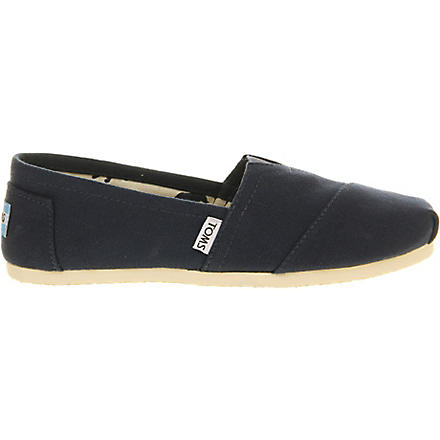 TOMS Classic shoes (Navy