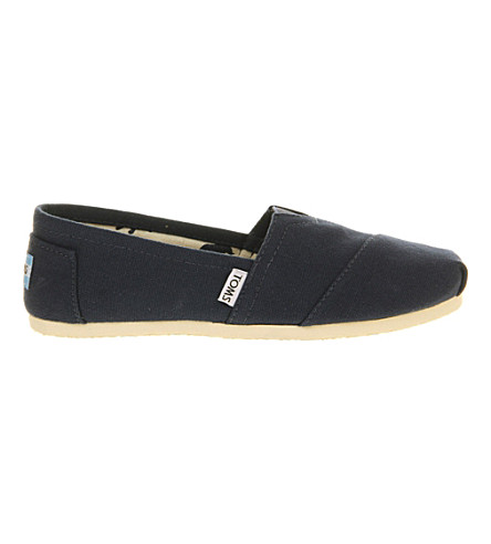 TOMS Classic canvas shoes (Navy