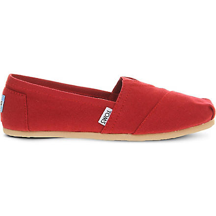 TOMS Classic shoes (Red