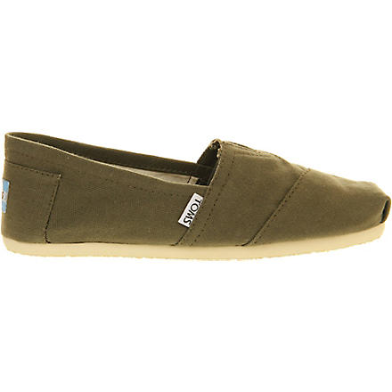 TOMS Classic shoes (Olive
