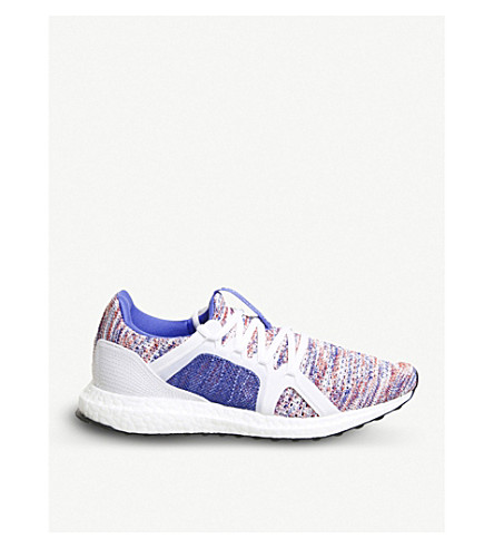 ADIDAS Ultra Boost knitted trainers (Hi+res+blue+white