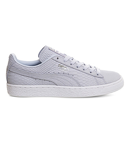 PUMA Suede classic trainers (Halogen+blue+exotic