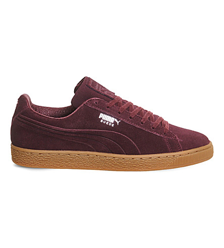 PUMA Suede classic trainers (Winetasting lilac