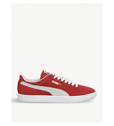 PUMA Suede Classic trainer (Ribbon+red+white