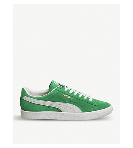 PUMA Suede Classic trainer (Kelly+green+white