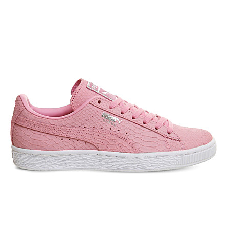 PUMA Suede classic trainers (Prism+pink+white