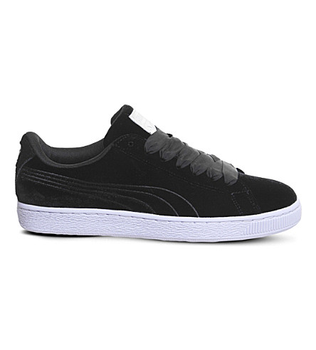 PUMA Basket Classic suede trainers (Black+deep+blue