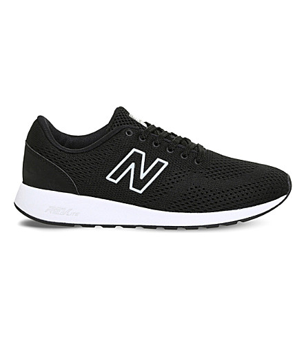 NEW BALANCE 420 Reflective mesh trainers (Black+white