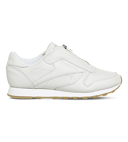 REEBOK Classic leather trainers (Chalk+sandstone